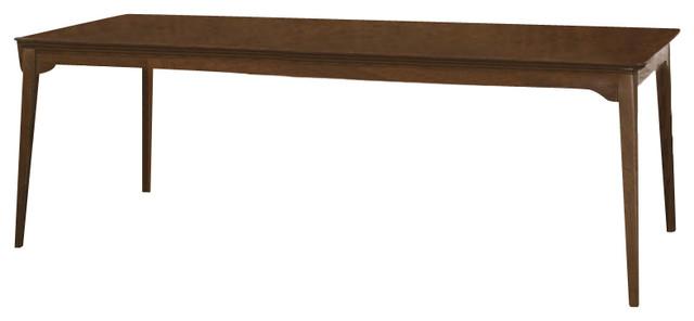 kincaid cherry park solid wood rectangular leg table