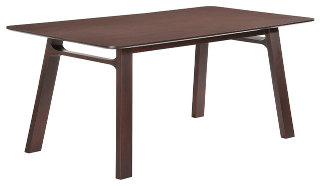 Modern Rectangular Dining Table Solid Wood Modern Dining Tables By NEW