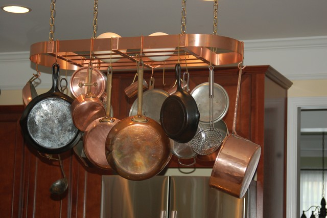 Kitchen Spaces Copper Pot Rack Pot Racks And Accessories Other Metro