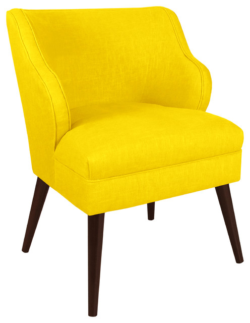 Made To Order Yellow Modern Chair Contemporary