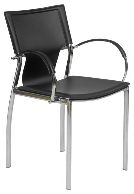 dining arm chairs set of 2 black eus849 contemporary dining