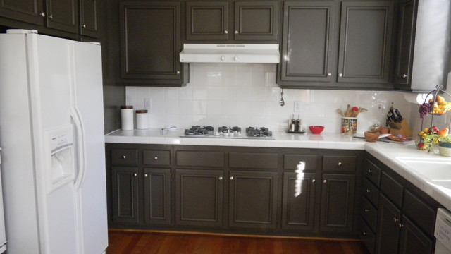 Painting kitchen cabinets  Kitchen  Los Angeles  by Ventura County