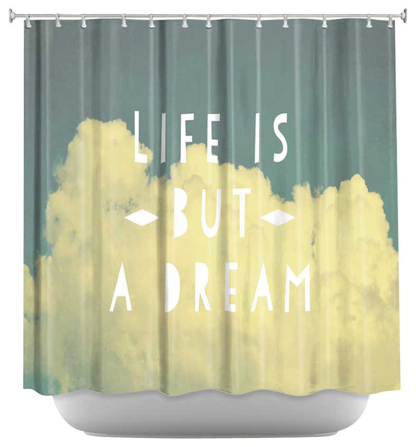 Shower Curtain Unique From Dianoche Designs Life Is But