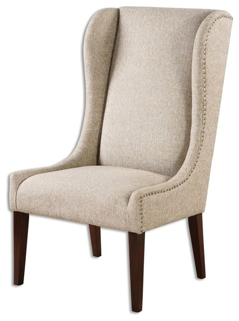 Kriston Armless Chair By Uttermost Transitional Armchairs And Accent Chai