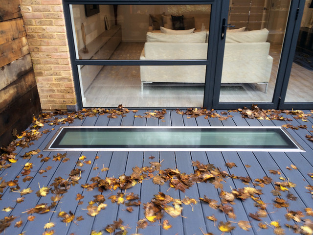 Glass Floor Walk On Glazing Modern Deck South West