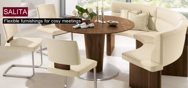 Salita Round Dining Table Woessner Dining Tables Miami By The Collectio
