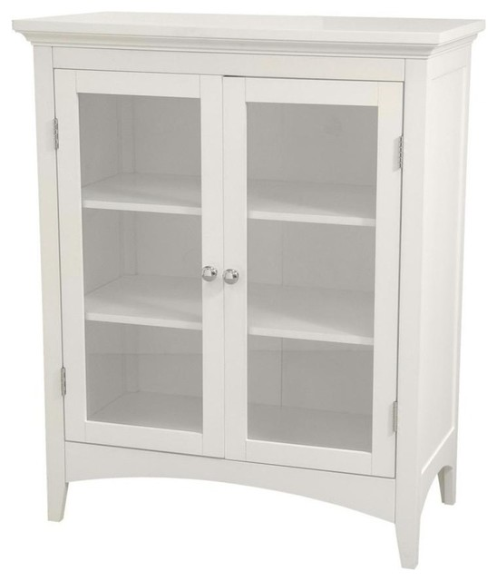 Madison Double Floor Cabinet - Traditional - Bathroom Cabinets And Shelves - by Elegant Home ...