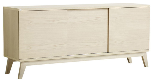 Solid Beech Sideboard - Midcentury - Buffets And Sideboards
