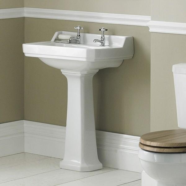 Old London Richmond Basin Traditional Bathroom Sinks