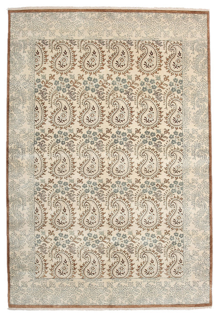 ikat wool area rug