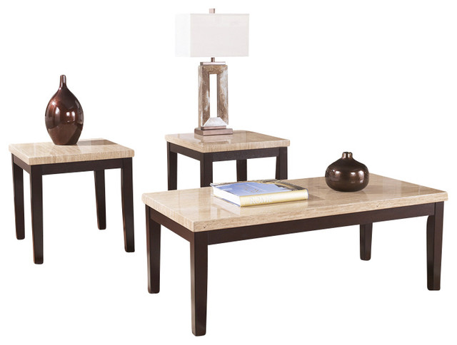 Signature Design by Ashley Wilder 3 Piece Occasional Table Set - Contemporary - Coffee Table ...