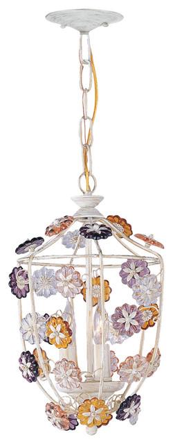 crystorama retro 3 light multi colored rosettes antique white pendant traditional pendant lighting antique white pendant lighting