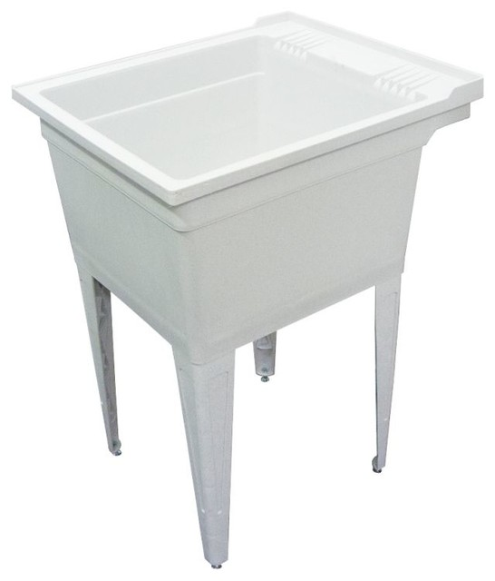 Utility Sink Accessories : ... -Mounted Laundry Tub, Without Accessories traditional-utility-sinks