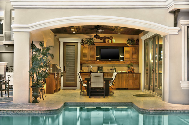 NatureKast Outdoor Kitchen Cabinetry - Tropical - San Diego - By Designs Living Fine Cabinetry