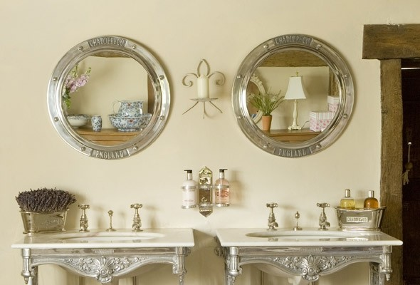 Brilliant Mahogany Bathroom Mirror  Traditional  Bathroom Mirrors  San Diego