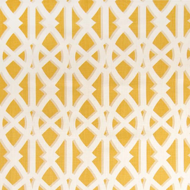Yolk Yellow Contemporary Asian Cotton Made in USA