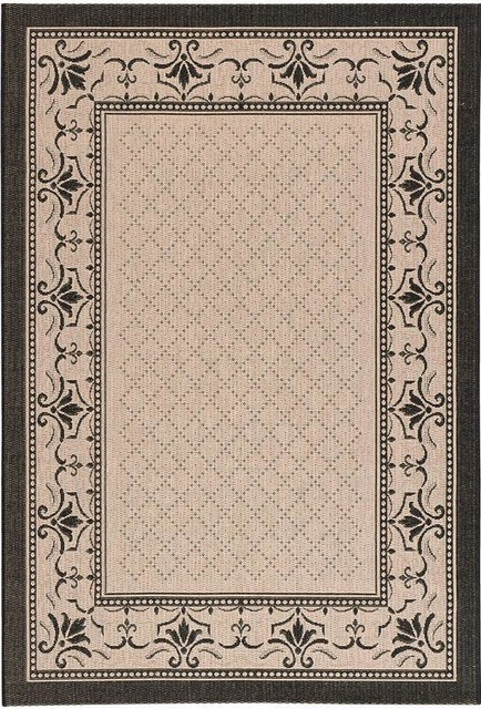 Harbor all weather area rug 7 39 10 x11 39 beige for All weather patio rugs