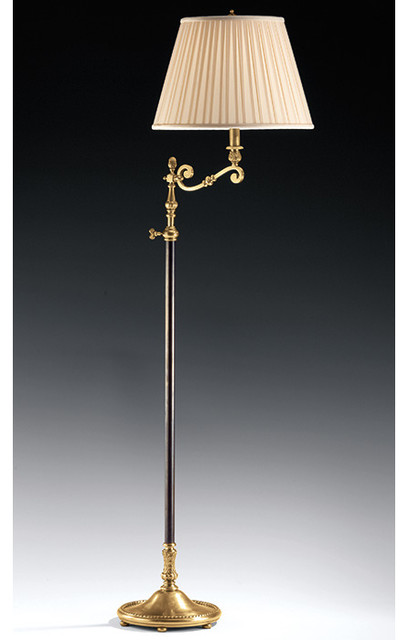 Swing Arm Adjustable Lamp Traditional Floor Lamps