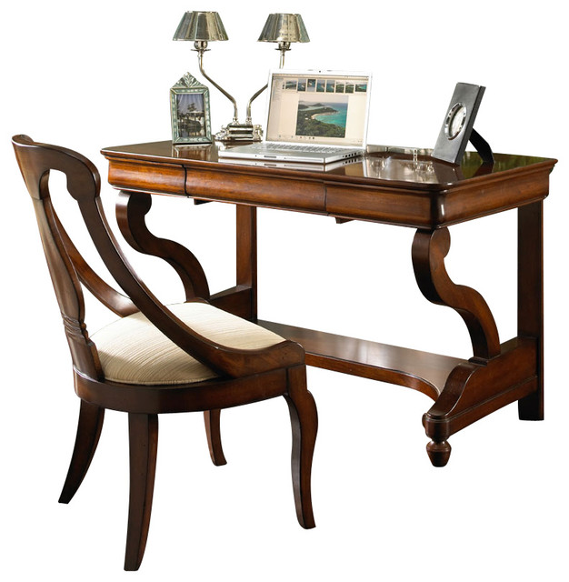 Louis Philippe Classics Desk Chair Traditional Office Chairs By Carolina Rustica