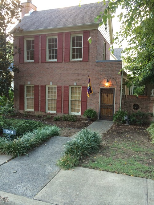 Exterior Paint Ideas For Pink Brick Homes