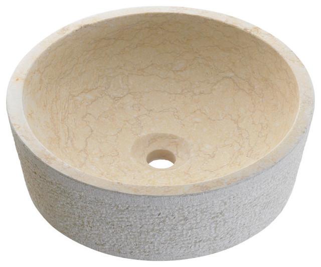 Dual Stone Luxury Marble Vessel Sink - Modern - Bathroom Sinks - other ...