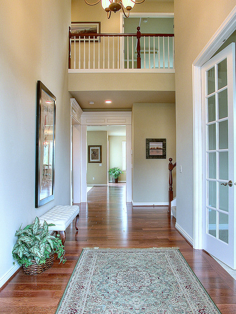 Traditional Foyer Uk : The pointe lot foyer traditional seattle by john