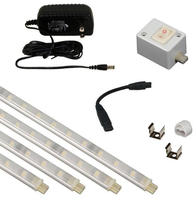 Jesco KIT-S601-12-30-A Under Cabinet Light Kit - Contemporary - Undercabinet Lighting - by ...