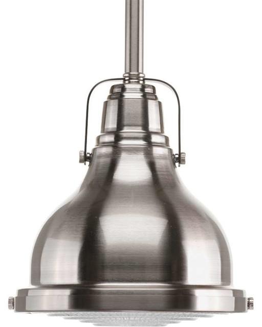 Fresnel Lens 1 Bulb Mini Pendant Light