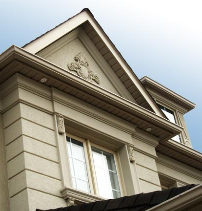 Exterior Mouldings On Stucco