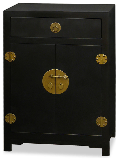Elmwood Ming Cabinet - Asian - Accent Chests And Cabinets - by China Furniture and Arts