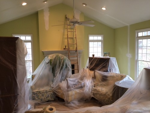 Prep Room For Painting In Advance