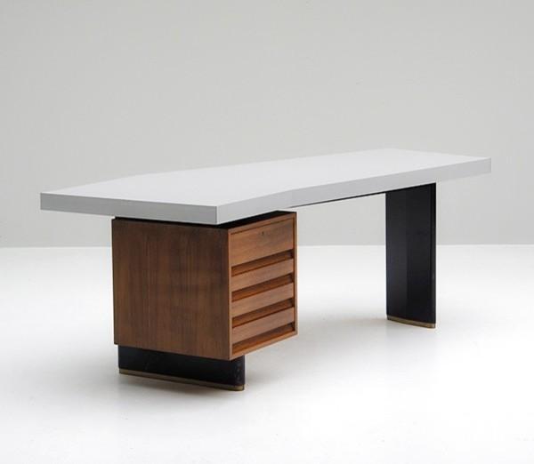 schreibtisch von jos de mey f r van den berghe pauvers. Black Bedroom Furniture Sets. Home Design Ideas