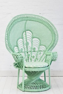 Lady Peacock Chair Eclectic Armchairs and Accent
