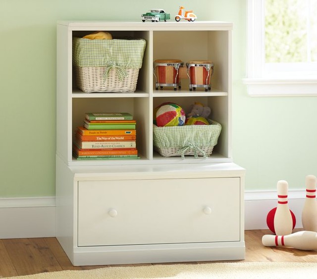 Cameron Cubby Amp Drawer Base Pottery Barn Kids