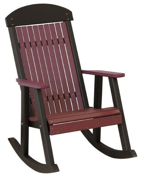 Classic Traditional Poly Rocking Chair Modern Outdoor Rocking Chairs bo