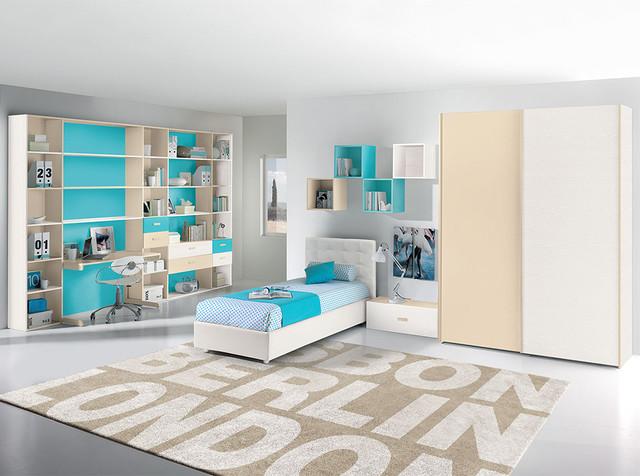 Italian kids bedroom composition vv g001 valentini - Camerette complete neonati ...