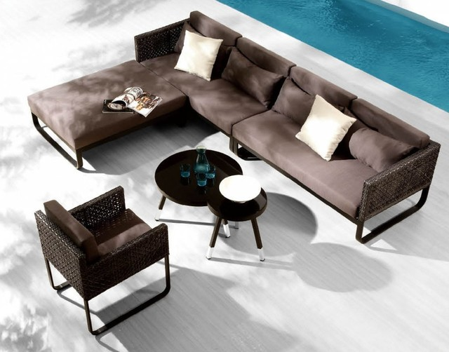 Barcelona lounge sofa with chair set contemporary for Sofas 4 plazas barcelona