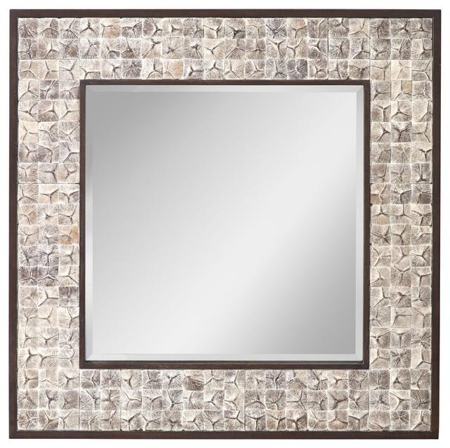 Murray Feiss Mirrors: Murray Feiss Mirror X-CHWW4121RM Tropical-wall-mirrors