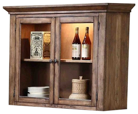 Progressive Furniture Boulder Creek Hutch - Craftsman ...
