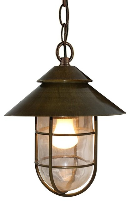 Vintage Industrial Style Bucket Hat Shape Pendant Light