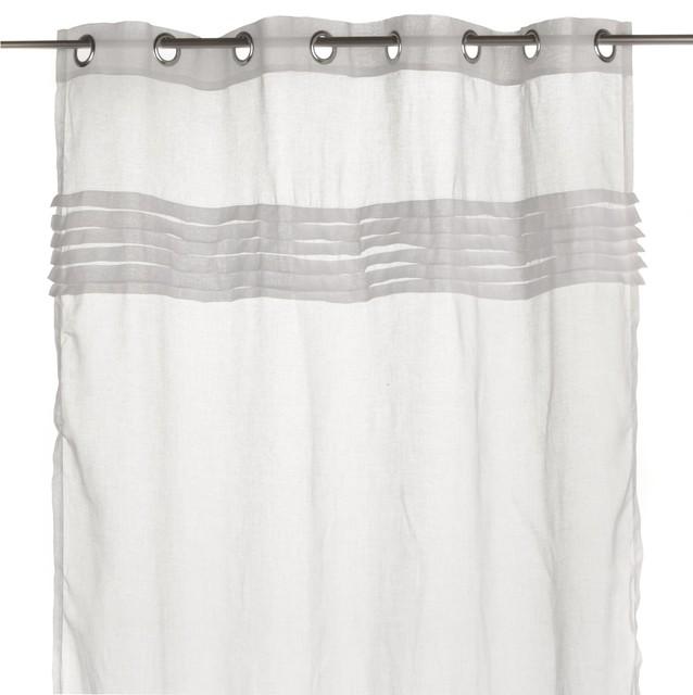 correze voilage illets contemporain rideaux par alin a mobilier d co. Black Bedroom Furniture Sets. Home Design Ideas