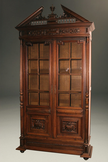 Antique China Cabinet - Traditional - China Cabinets And Hutches - indianapolis - by Beauchamp ...