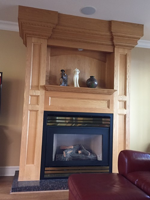What Can I Do To Update This Fireplace Surround