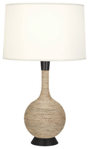 robert abbey laguna table lamp deep patina bronze contemporary table