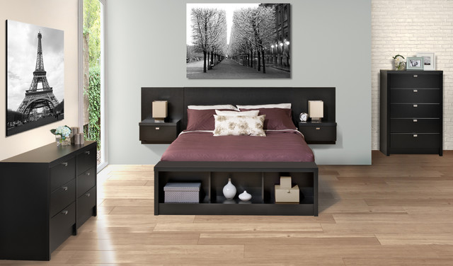 floating headboard moderne t te de lit vancouver par prepac furniture. Black Bedroom Furniture Sets. Home Design Ideas