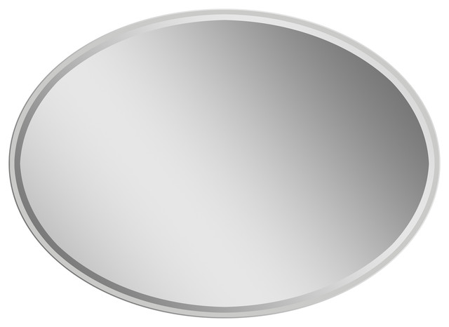Extra long oval wall mirror modern wall mirrors by for Modern long mirror