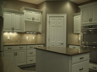 Kitchen With Powder Room Layout