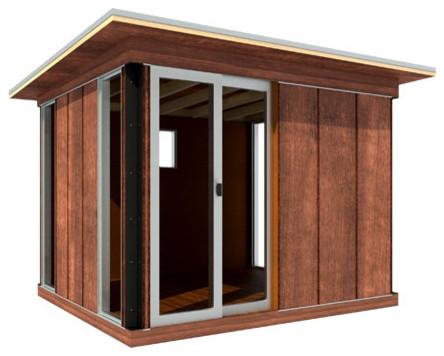 modern cabana contemporary prefab studios