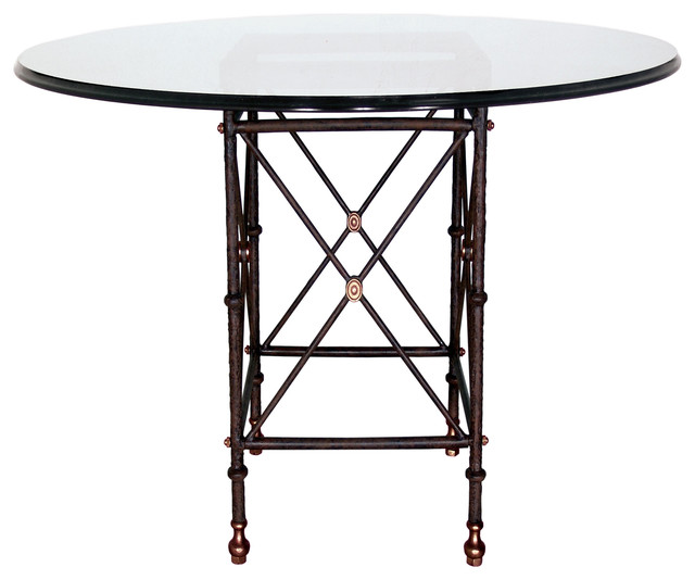 Etruscan Dining Table Base Only Square Small  : transitional table tops and bases from www.houzz.com size 640 x 534 jpeg 49kB