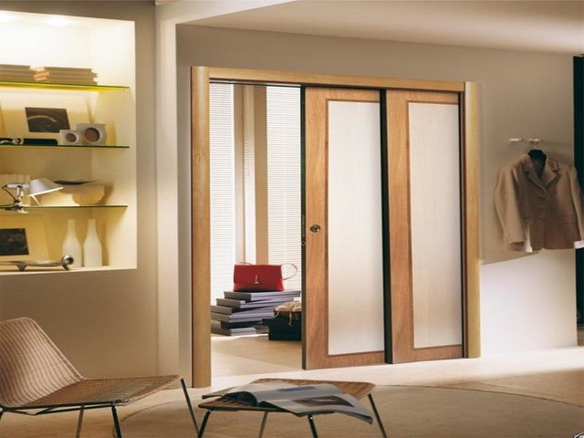Sliding doors modern interior doors other by for Modern sliding doors